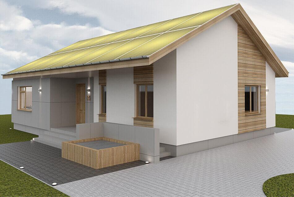 Atum Solar Panel Home