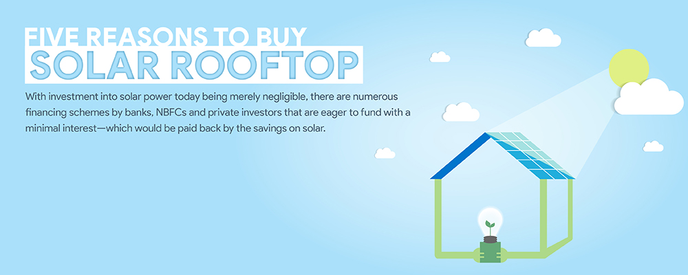 Five reasons why you should buy your solar rooftop plant during a recession